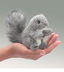 folkmanis squirrel finger puppet like collecting