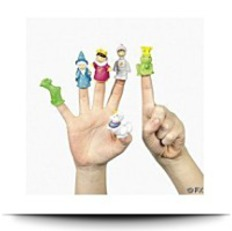 24PC Fairy Tale Finger Puppet Party