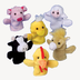 farm animal finger puppets soft plush