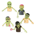 glow zombie finger puppet walking dead