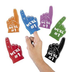 foam mini fingers team spirit colorful