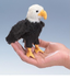 folkmanis mini eagle finger puppet power