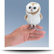 Barn Owl Mini Puppet