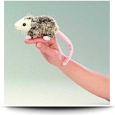 Finger Puppet Mini Opossum