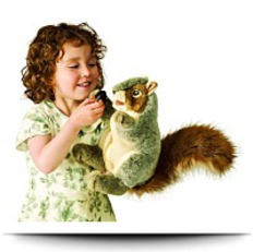 Buy Now Gray Squirrel Puppet