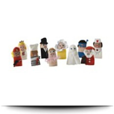 Buy Now Titta Folk Finger Puppet Collection