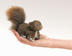 folkmanis squirrel finger puppet