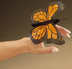 monarch butterfly finger puppet sheer wings