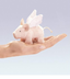 winged piglet finger puppet pigs time