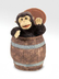 folkmanis monkey barrel hand puppet what's