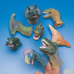 Realistic Deluxe Toy Dinosaur Finger