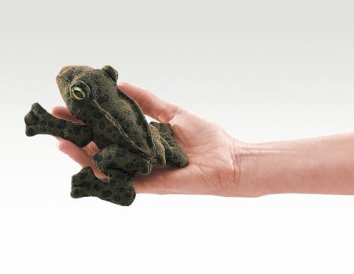 Folkmanis Puppet Mini Toad
