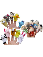 Story Time Finger Puppets